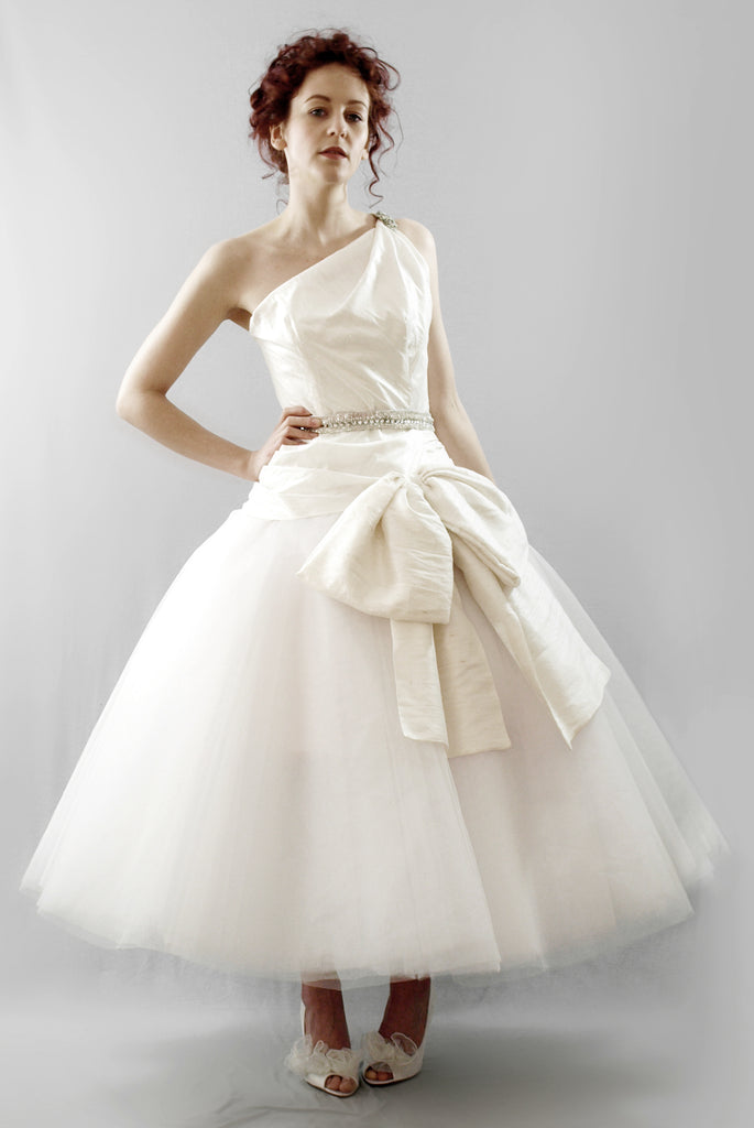 alexandra king astor tulle wedding dress