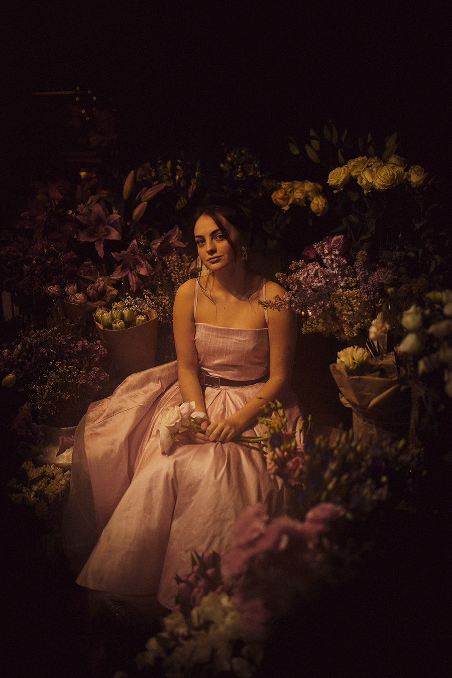 alexandra king peony dress classical photographer lynnsey kelly flowers