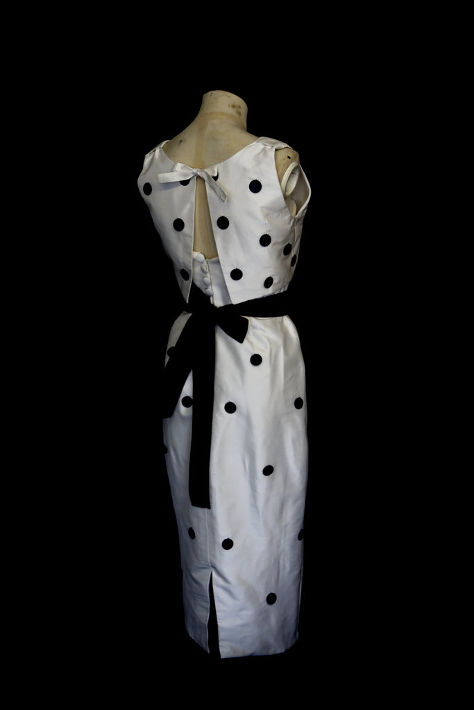 alexandra king polkadot dress