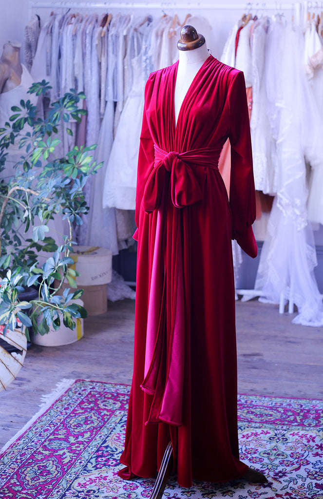 red velvet gown deadly is the female alexandra king