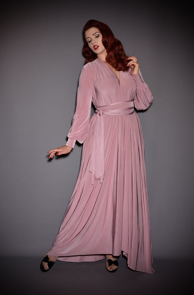 alexandra king for deadly claudia dress pink gown
