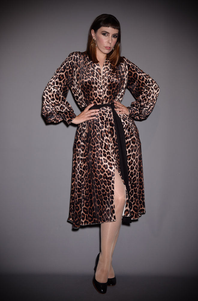 alexandra king for deadly claudia dress leopard