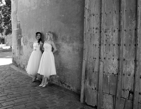 short wedding dresses by alexandra king
