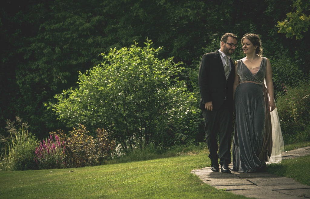emma couture velvet wedding dress by alexandra king priston mill