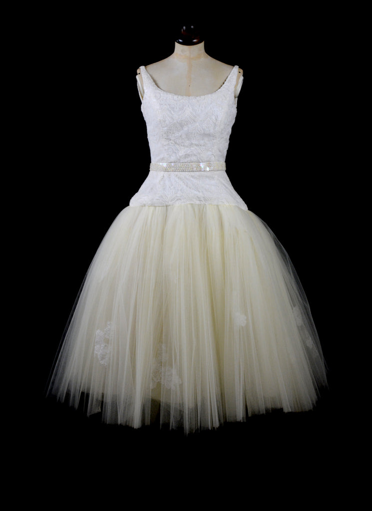 alexandra king tulle ballerina wedding dress