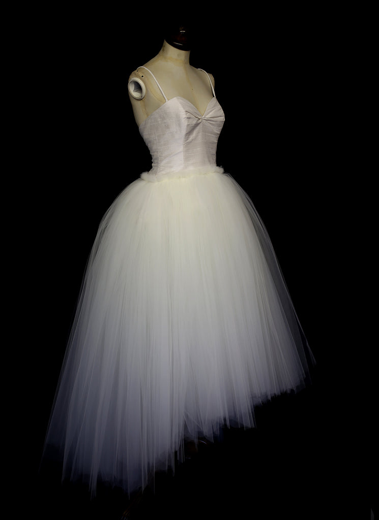 tulle wedding dress ballet dress alexandra king
