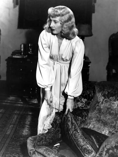 Barbara Stanwyck Double Indemnity