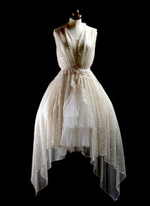 1920 - Champagne Sequin Dress reserved