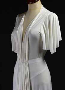 1939 - Draped Jersey Gown
