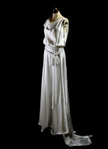 1930 - Satin Bias Cut Dress