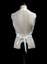 Aida - Bespoke Silk Satin Halter Top