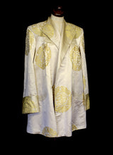 Vintage 1940s Silk Satin Coat