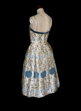 Vintage 1950s Embroidered Dress