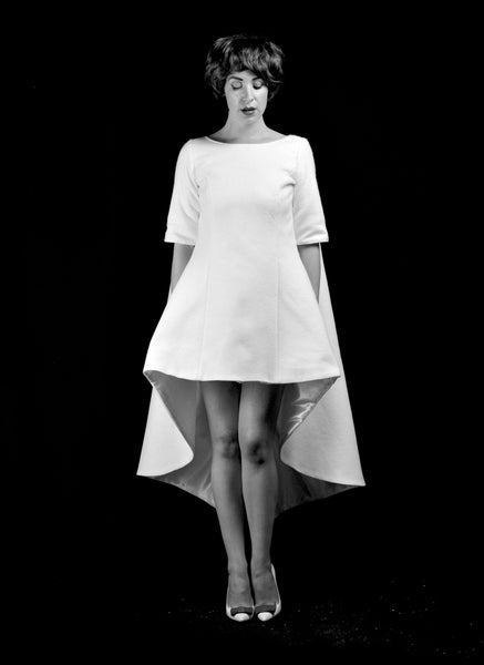 1960 - Wool Felt Mini Dress