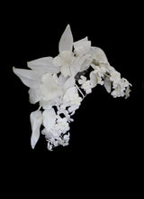 Vintage 1950s Large Flower Head Piece