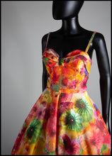 The Showgirl - Printed Wool Felt Dress - Liz Clay Collaboration