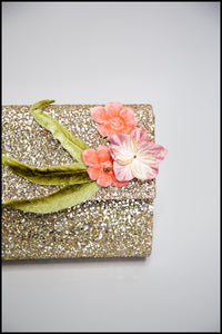 Pastel Glitter Clutch Bag (sample)