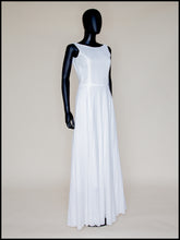 Natalia - Broderie Anglaise White Cotton Maxi Dress