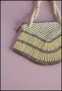 Vintage 1930s Art Deco Beaded Purse (as is)