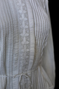 Edwardian White Cotton Lawn Blouse