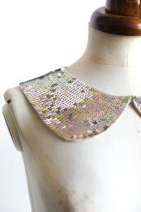vintage 1970s sequin collar alexandra king