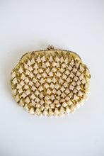 Vintage 1950s Gold Beaded Cocktail Bag