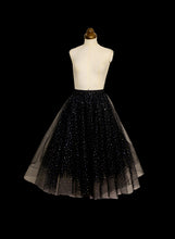 Black Tulle Disco Skirt