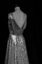 Skye - Sequin Bespoke Cowl Back Gown