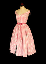 RESERVED Good Girl / Bad Girl Gingham Dress