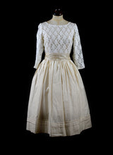 Helena - Cotton and Lace Dress