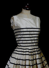 Sindi Stripe Silk Dress