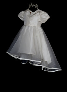 Milly - Silk Organza Flower Girl Dress