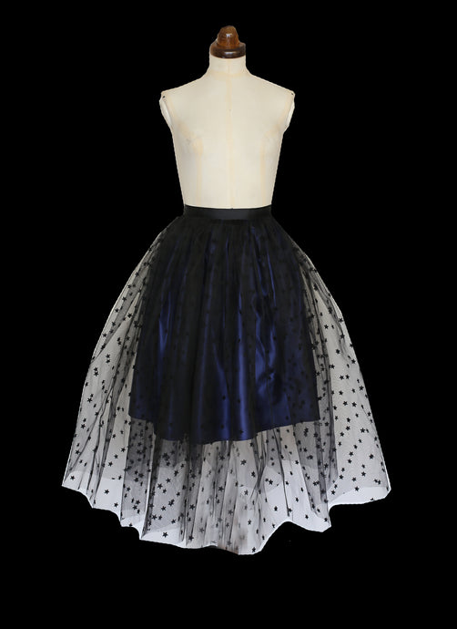 Black Magic - Star Tulle Skirt