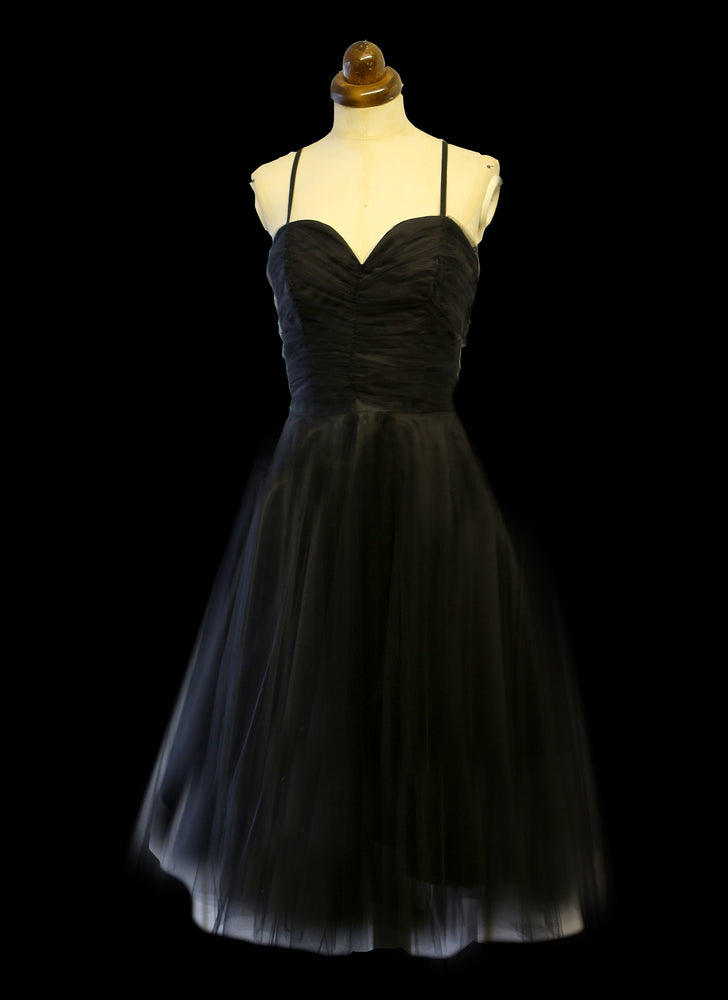 Taylor - Black Tulle Ballet Dress