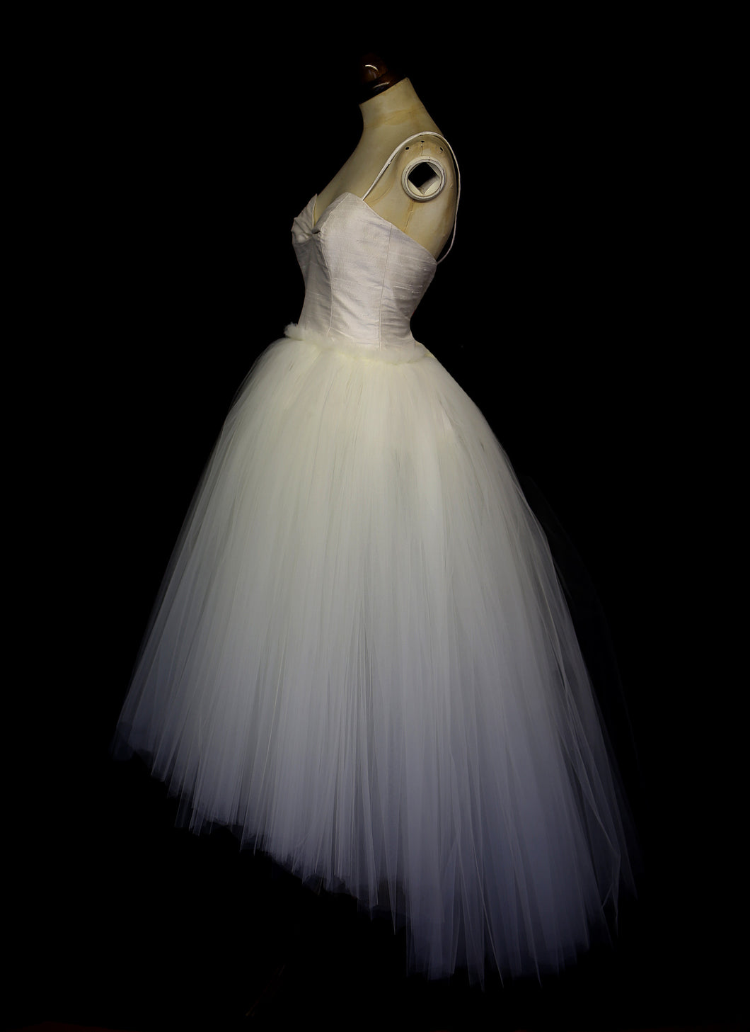 Charlotte - Tulle Silk Ballerina Wedding Dress