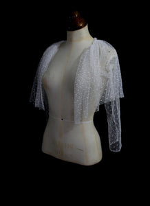 Point d'esprit tulle Capelet