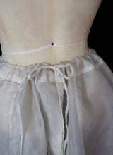RESERVED Antique 1910s Edwardian Organdie Underskirt
