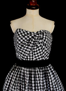 Gingham Cotton Fabric of the World Dress