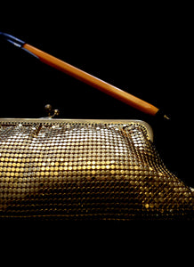 Vintage Gold Glomesh Purse