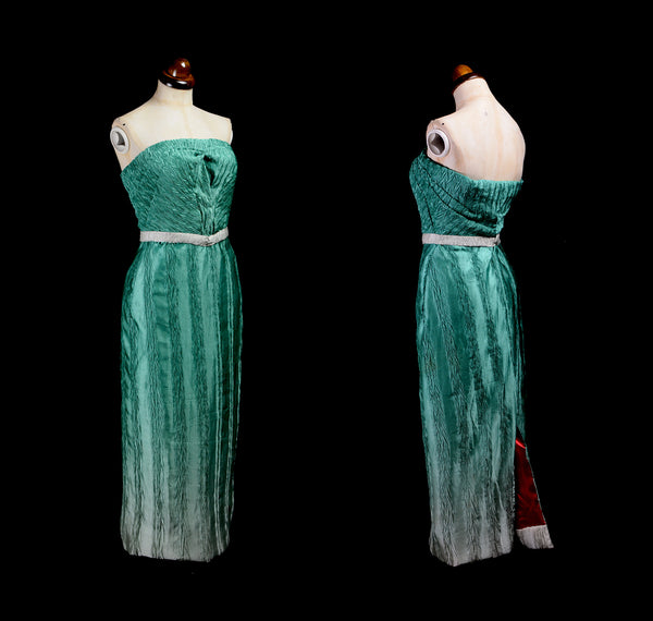 Green Ombre Hourglass Dress