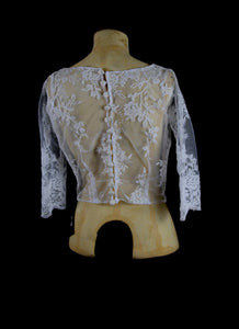 Angela Corded Lace Bodice Top