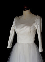 Kate - Silk and Tulle Ballerina Wedding Dress