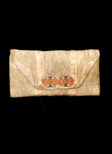 Vintage 1920s Lame Clutch Bag