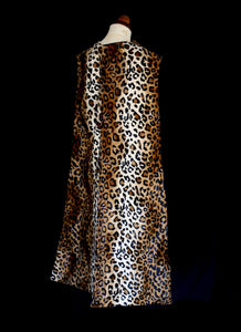 Vintage Reproduction 1950s Leopard Stole and Muff