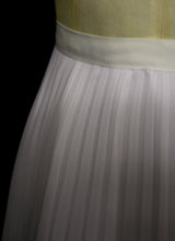 Wist - Pleated Chiffon Full Circle Skirt