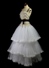 1947 - Tiered Tulle Ball Gown
