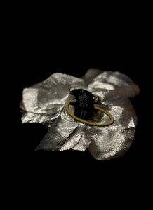 Corsage - Metallic Silver Gold Corsage