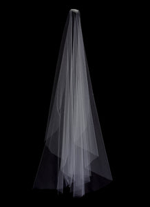 Veil - Bespoke Naked Edge Wedding Veil