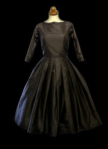 Bella Donna - Black Silk Dress