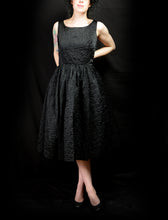Vintage 1950s Black Cocktail Dress